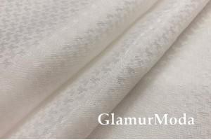 Подкладочная ткань с вискозой молочного цвета