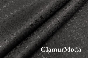 Подкладочная ткань с вискозой черного цвета