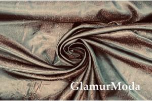 Подкладочная ткань с вискозой коричневого цвета