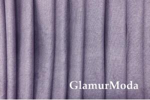 Ткань Блэкаут лен цвет сиреневый (25)