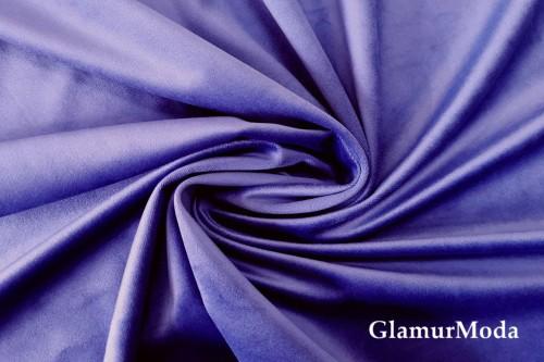 Бархат для штор фиолетового цвета, 300 см