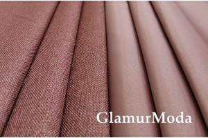 Димаут портьерный двухсторонний, 300 см, Турция цвет розовая пудра