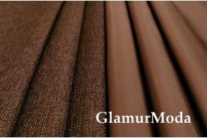 Димаут портьерный двухсторонний, 300 см, Турция коричневый цвет