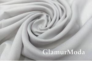 Креп вуаль холодный серый цвет, 315 см, Турция