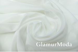 Креп вуаль молочно-белый цвет, 315 см, Турция