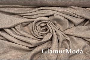 Портьерный Софт серо-коричневого цвета 280 см