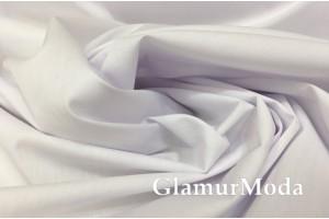 Рубашечный поплин-нейлон белого цвета