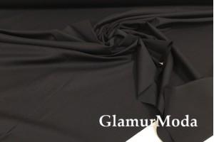 Рубашечный поплин-нейлон чёрного цвета