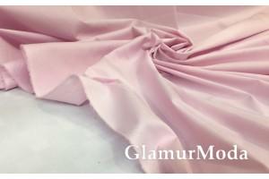 Рубашечный поплин-нейлон нежно-розового цвета