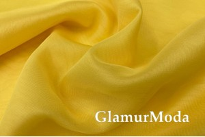 Шифон Винди, цвет лимонно-желтый