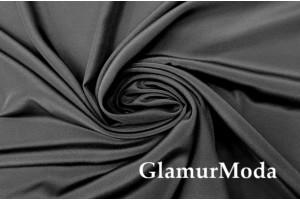 Креп шифон чёрного цвета, Италия