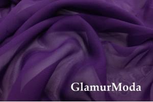 Шифон фиолетового цвета