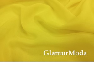 Шифон желтого цвета
