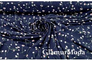 Софт супер, цветы на темно-синем фоне