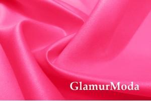 Свадебный сатин матовый, цвет кислотно-розовый, арт.41