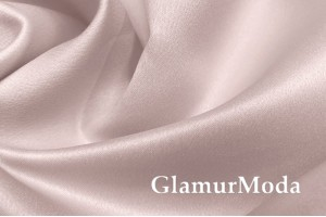 Свадебный сатин матовый, цвет нежно-розовый, арт.42