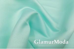 Свадебный сатин матовый, цвет светлая бирюза, арт.33, Турция
