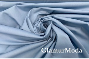 Тиси сорочечная пыльно-голубого цвета