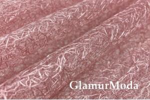 Тюль паутинка розового цвета 280 см
