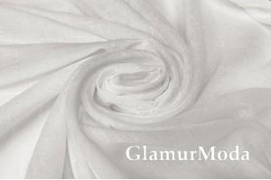 Тюль серии EFSUN белого цвета 300 см с утяжелителем