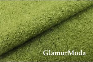 Ткань Лоден оливковый цвет