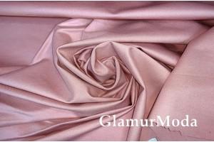 Трикотаж Джерси (Нейлон Рома) пудрового цвета 600 гр/м