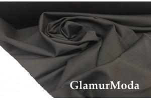 Трикотаж Джерси (Нейлон Рома) черного цвета 600 гр/м