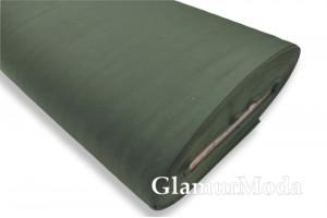 Сатин мерсеризованный 240 см, N54 изумрудного цвета