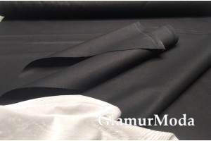 Акфил 240 см однотонный черного цвета