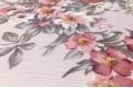 Дак (DUCK) цветочный рисунок на розовом фоне