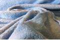 Велсофт однотонный голубой 150 см