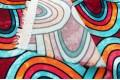 Вискоза Pinar, яркая абстракция