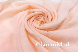Вискоза крэш (жатая) персикового цвета