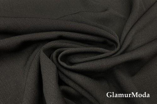Вискоза крэш (жатая) цвет черный