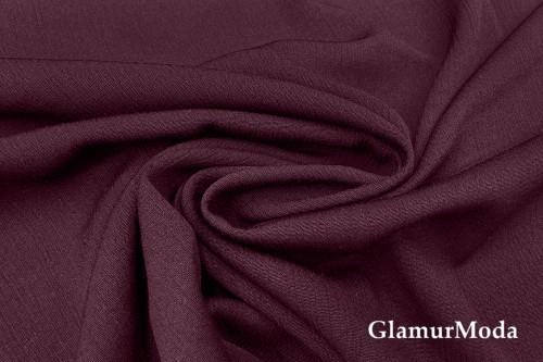 Вискоза крэш (жатая) цвет бордовый