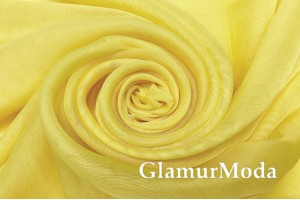 Вуаль нежно желтого цвета