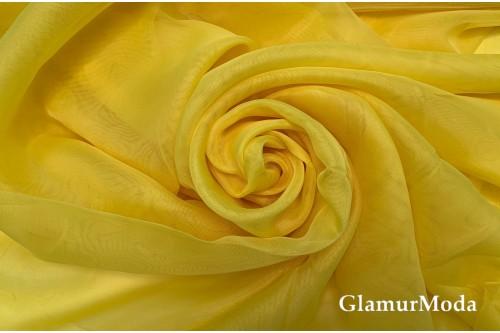 Вуаль ярко желтого цвета