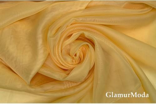 Вуаль  желтого цвета