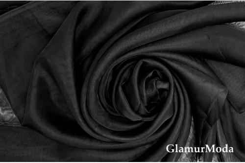 Вуаль черного цвета
