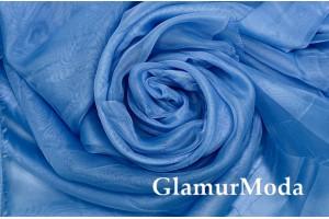 Вуаль голубого цвета