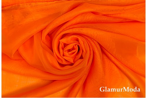 Вуаль ярко оранжевая