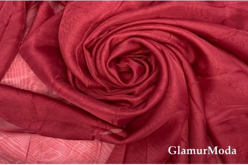 Вуаль бордового марсала цвета