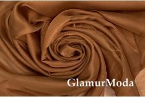 Вуаль коричневого цвета