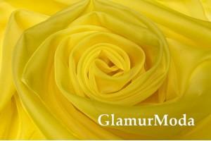Вуаль желтого цвета, 300 см