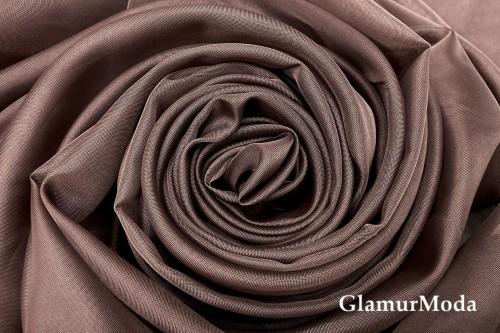 Вуаль коричневого цвета шириной 300 см