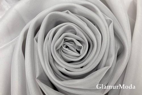 Вуаль серого цвета шириной 300 см