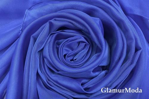 Вуаль синего цвета, 300 см