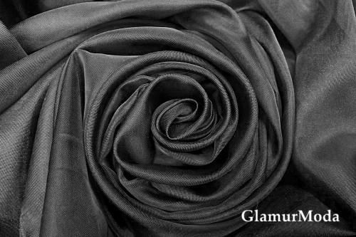 Вуаль черного цвета шириной 300 см