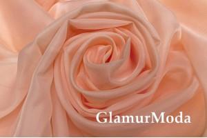 Вуаль персикового цвета, 300 см