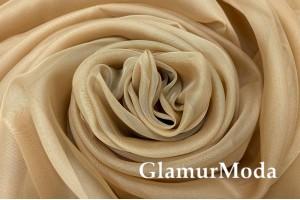 Вуаль светло-коричневого цвета, 300 см